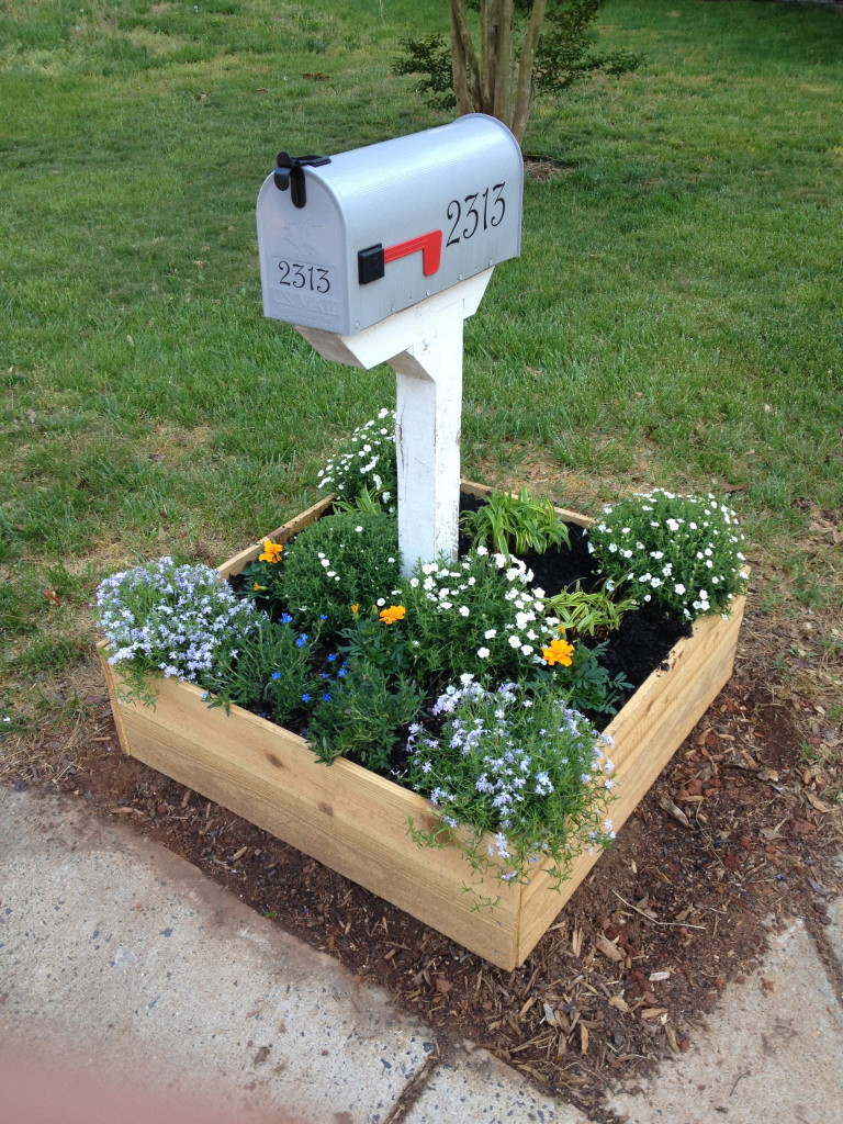 New Mailbox Planter Foxleaf